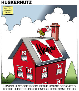 Paul Fell Cartoons Husker Cartoons